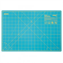 "Load image into Gallery viewer, Rotary Mat 18"" x 12"" Aqua"