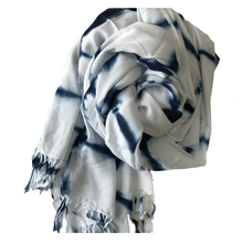 Load image into Gallery viewer, Shibori Scarf by Debbie Maddy #4