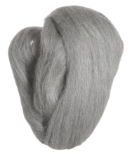 Load image into Gallery viewer, Natural Wool Roving - Ash