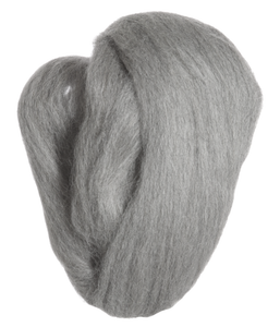 Natural Wool Roving - Ash
