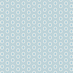 Oval Elements - Powder Blue - 50cm