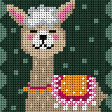 Load image into Gallery viewer, Llama Mini Tapestry Kit
