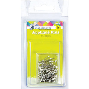 Applique Pins 19mm x 0.6mm