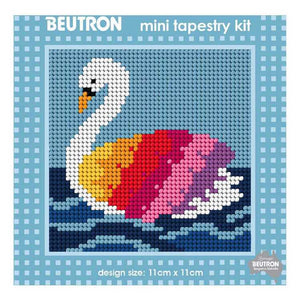 Swan Mini Tapestry Kit