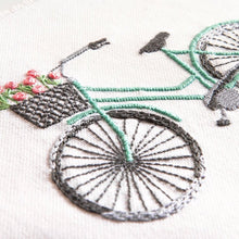 Load image into Gallery viewer, Bicycle Embroidery Kit