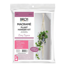 Load image into Gallery viewer, Easy Square Macrame Plant Hanger Kit