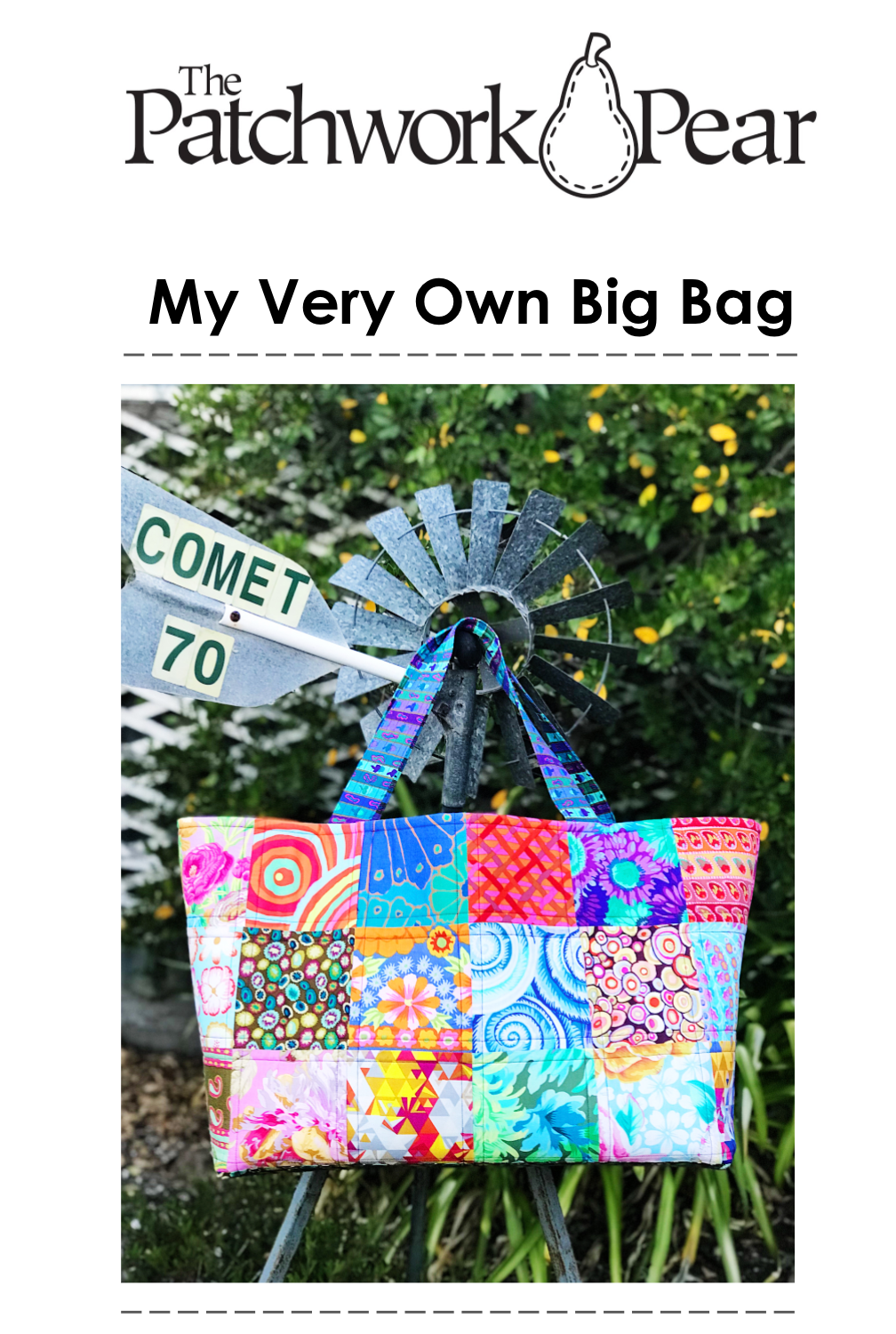 My Very Own Big Bag Pattern PDF