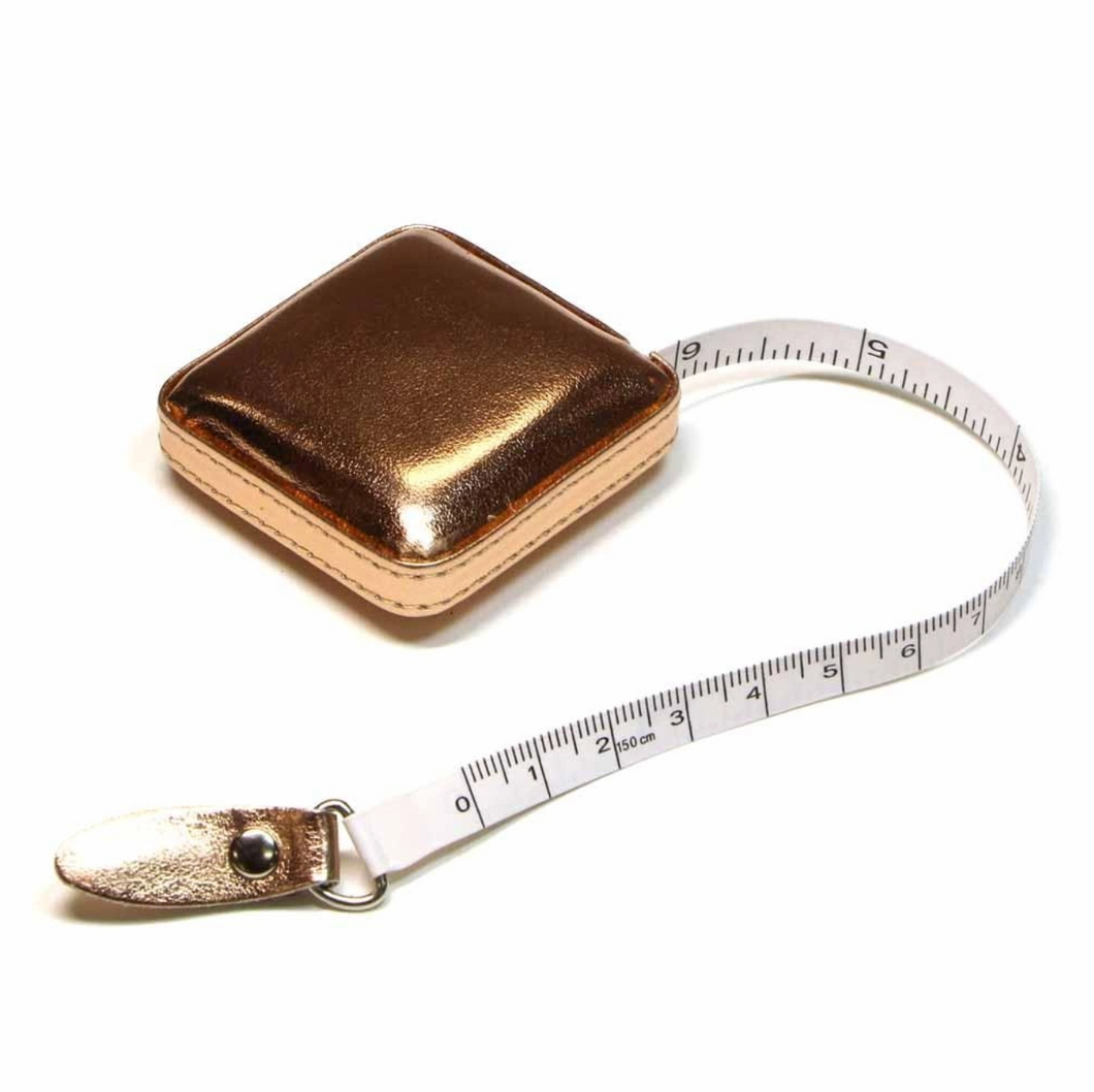 Retractable Rose Gold Tape Measure 150cm / 60