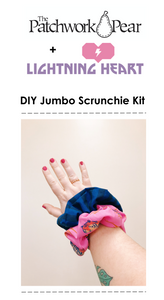 DIY Jumbo Scrunchie Kit