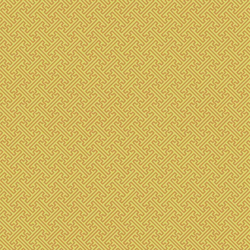 FB Textures - Chinese Key - Yellow - Metallic - 50cm