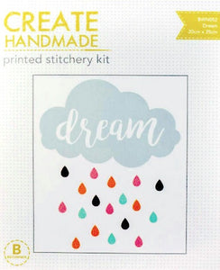 Dream Printed Stitchery Kit