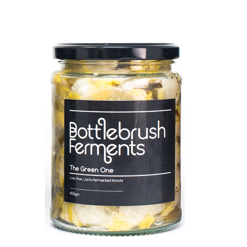 Bottlebrush Ferments - The Green One Kimchi 450g