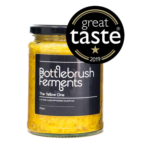 Bottlebrush Ferments - The Yellow One Sauerkraut 450g