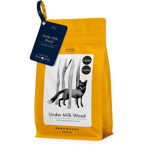 Darkwoods Under Milk Wood Coffee Beans 250g