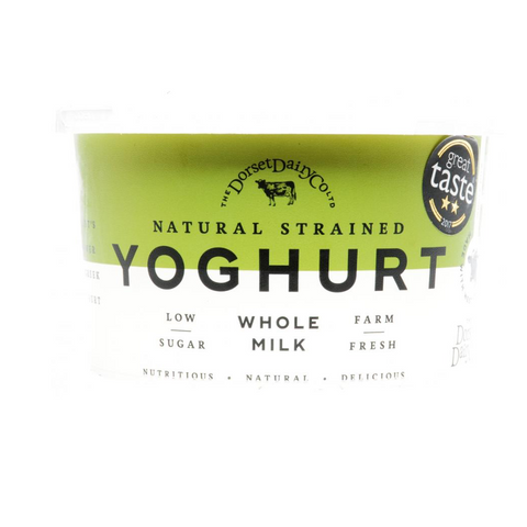 Dorset Dairy Whole Milk Strained Yoghurt 500g