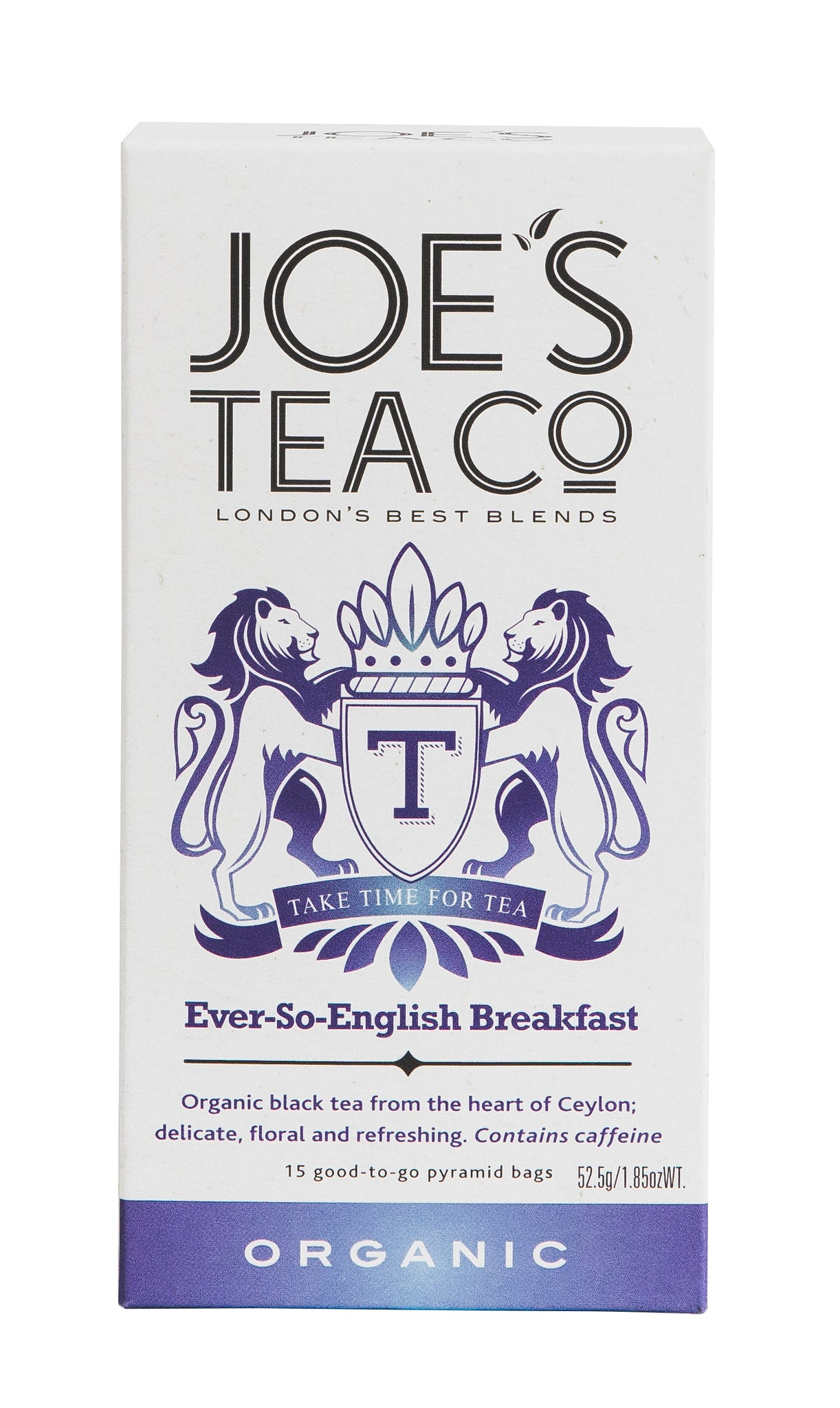 Joe's Tea Co. Ever-So-English Breakfast tea bags