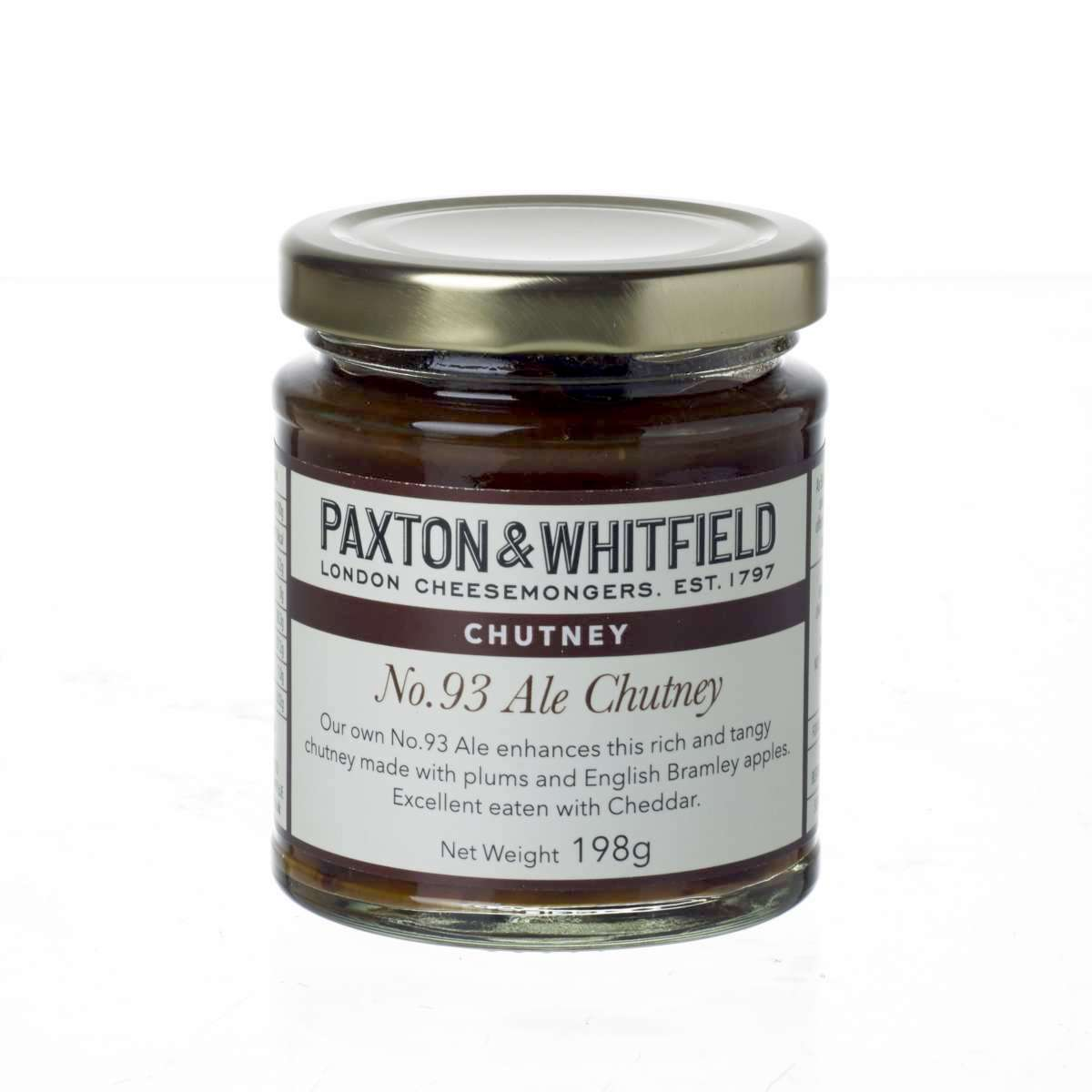 Paxton & Whitfield No. 93 Ale Chutney 198g