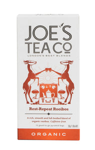 Joe's Tea Co. Rest-Repeat Rooibos tea bags