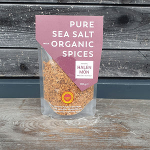 Halen Mon Pure Sea Salt with Organic Spices, 100g
