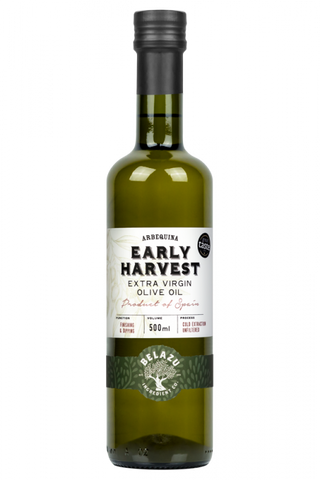 Belazu Early Harvest Arbequina Extra Virgin Olive Oil, 500ml