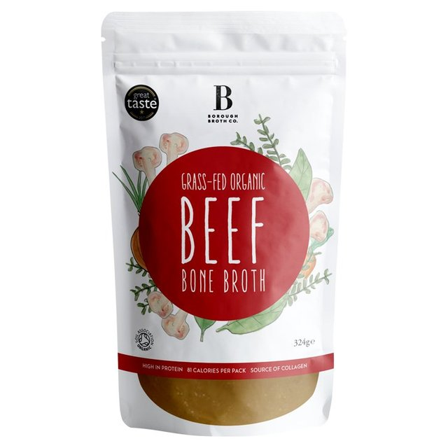 Borough Broth 24hr Organic Beef Bone Broth 324g