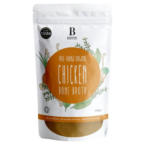Borough Broth 24hr Organic Chicken Bone Broth 324g
