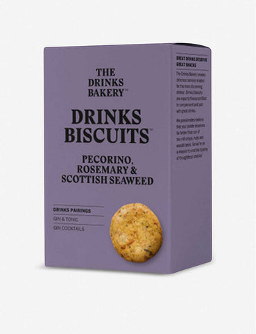 Drinks Bakery Pecorino, Rosemary & Seaweed Biscuits 36g