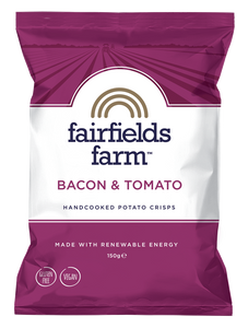 FAIRFIELDS FARM CRISPS - BACON & TOMATO 150g