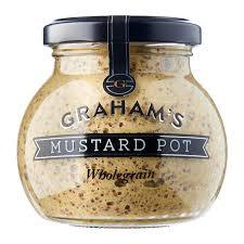 GRAHAM's Wholegrain Mustard 215g