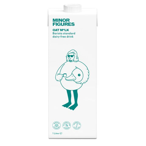 Minor Figures Barista Oat Milk 1L
