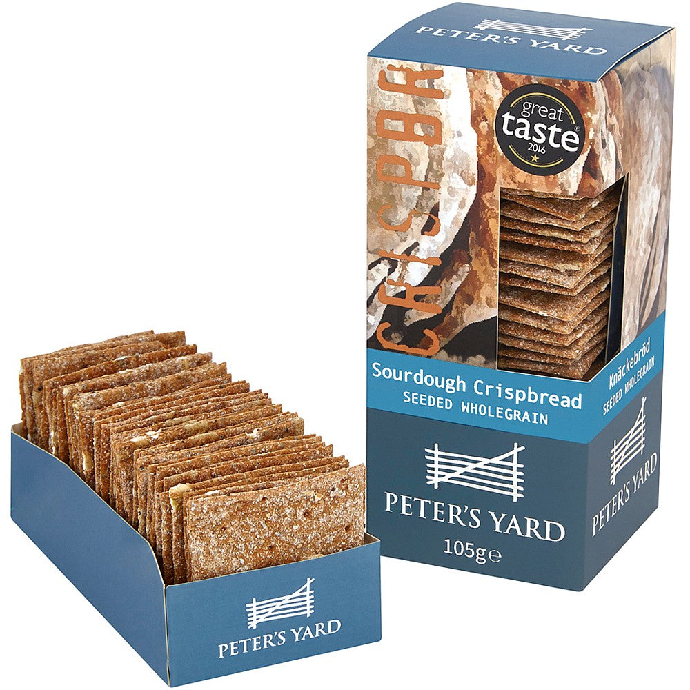 Peter's Yard Seeded Wholegrain Crispbread 105g