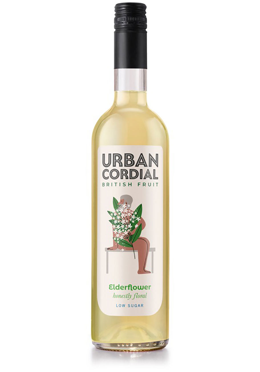 Urban Cordials Elderflower Cordial 500ml
