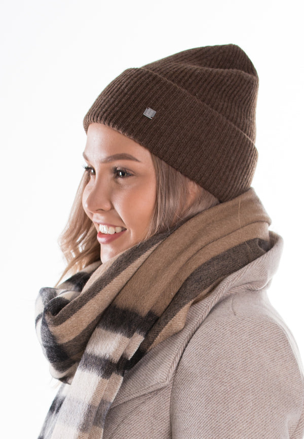 Frona knitted wool beanie