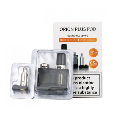 Lost Vape Orion Plus Replacement Pod 1PK w/ 2 Coils