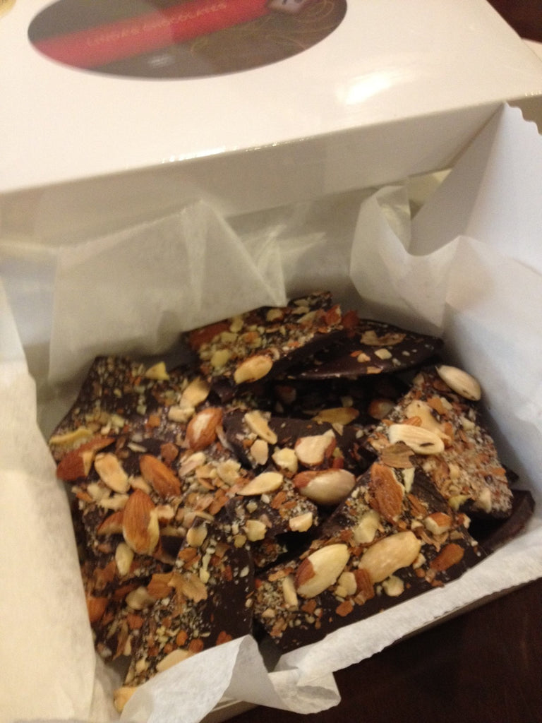 Roasted Almond Bark