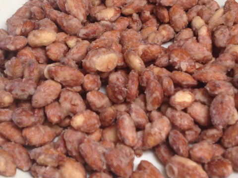 Cinnamon Glazed Roasted Almonds