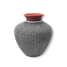 Load image into Gallery viewer, Acoma Antonio Eye Dazzler Pot by Melissa Antonio