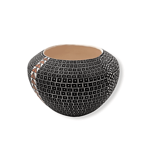 Image of Acoma Arrow Pot By Melissa Antonio