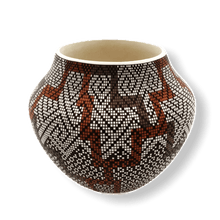 Load image into Gallery viewer, Acoma Eye Dazzler Pot by Frederica Antonio