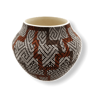 Acoma Eye Dazzler Pot by Frederica Antonio