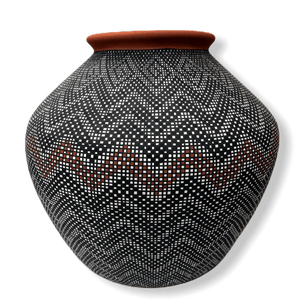 Acoma Eye Dazzler Pot by Melissa Antonio