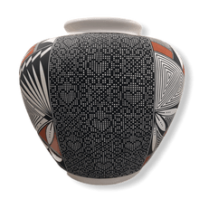 Load image into Gallery viewer, Acoma Heart Eye Dazzler & Traditional Design Pot