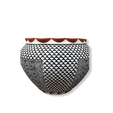 Acoma Intricate Design Pot