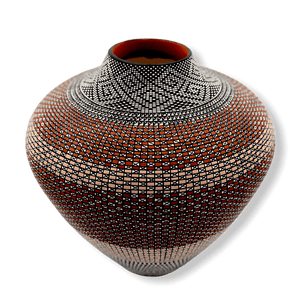 Acoma Large Pot by Melissa Antonio