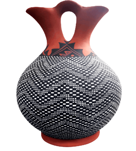 Image of Acoma Large Wedding Vase By M. Antonio