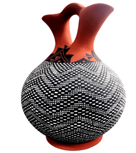 Acoma Large Wedding Vase by M. Antonio