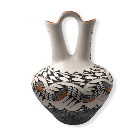 Acoma Large Wedding Vase W/ Avanyu