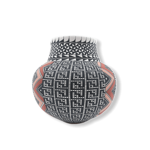 Image of Acoma Lightining Bolt Pot By Melisa Antonio