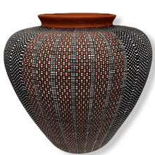 Load image into Gallery viewer, Acoma Multi Design Pot by Melissa Antonio