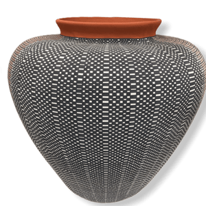 Acoma Multi Design Pot By Melissa Antonio